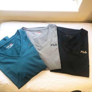 Filas | 3 workout tee shirts Size XL